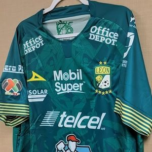 Pirma Shirts - Club Leon Home Jersey
